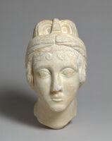 Portrait Head Of A Woman