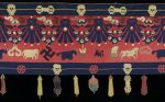 Tantric Temple Banner with Decoration of Auspicious Emblems