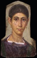 Mummy Portrait Of A Woman With Earrings