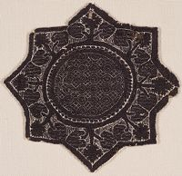 Textile Fragment: Eight-Pointed Star