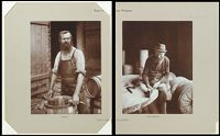 Industrial Problems, Types Of Working People: Germany. Blacksmith; Cooper; Boiler-Maker; Stonedresser; Toy-Maker; Washwomen; Marketwomen: Types Of German Workmen