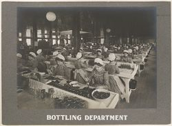 Industrial Problems, Welfare Work: United States. Pennsylvania. Pittsburgh. H.J. Heinz Company: Bottling Department.   Social Museum Collection