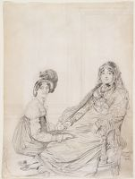 Portrait Of Mrs. George Vesey And Her Daughter Elizabeth Vesey, Later Lady Colthurst