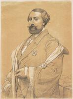 Portrait Of Alfred-Emilien O'hara, Comte De Nieuwerkerke