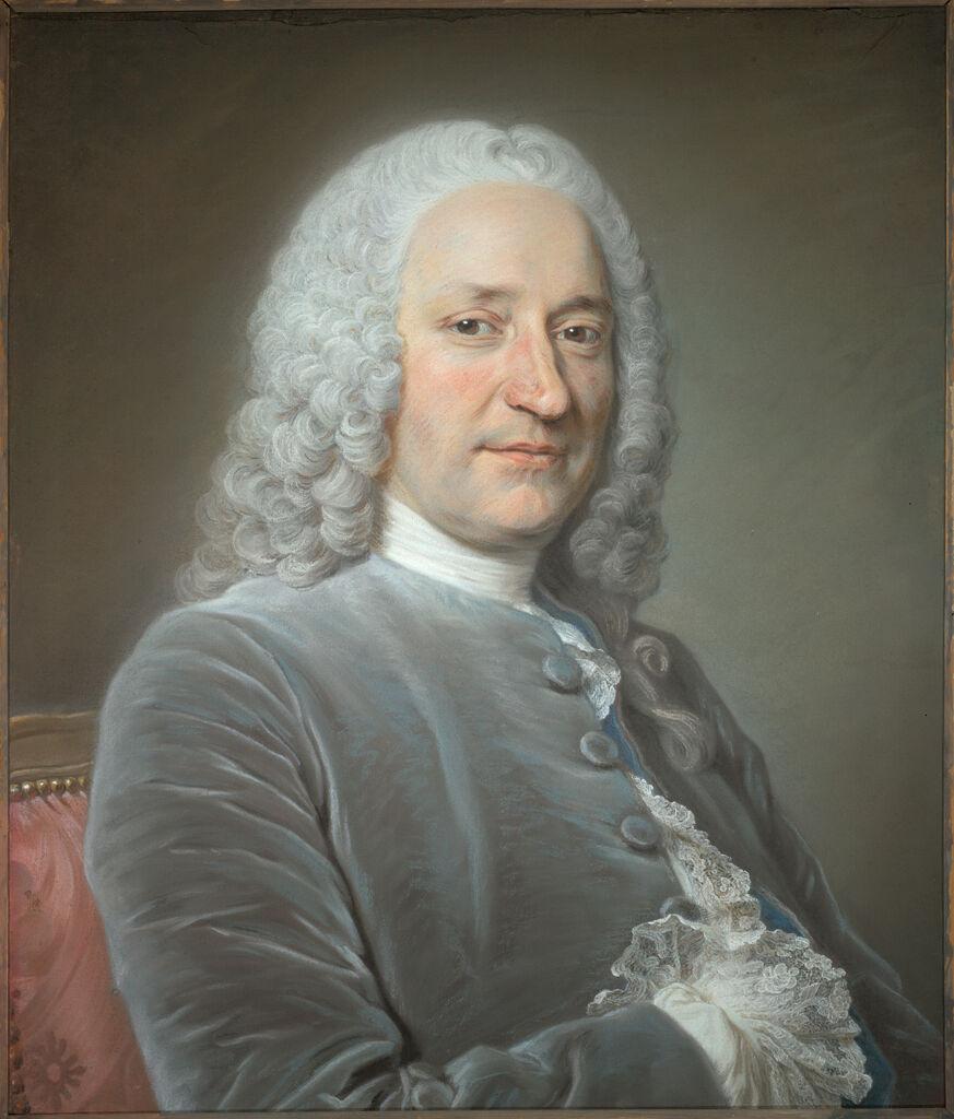 Portrait Of Jean De Jullienne