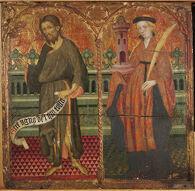 Saint John the Baptist and Saint Barbara