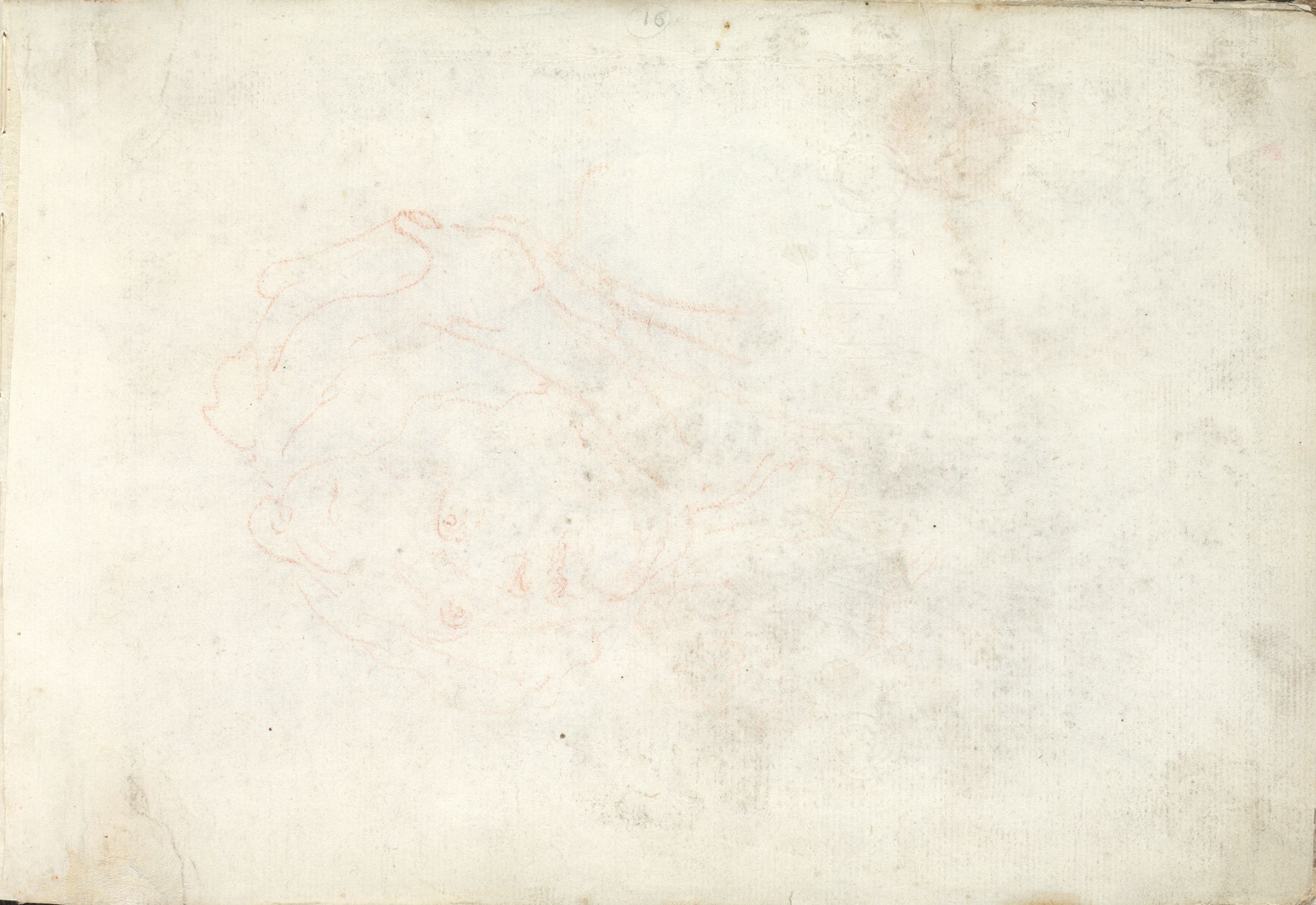 Head Of A Woman; Verso: Head