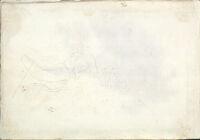 Blank Page; Verso: Half-Length Figure Study