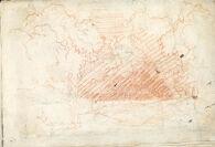 Landscape; verso: Composition Study