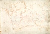 Landscape; Verso: Landscape