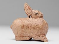 Aryballos In The Shape Of A Hare