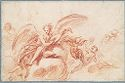 Angel Playing A Lute; Verso: Studies Of Putti And Other Figures