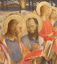 Fac-Simile Of A Portion Of An Altar-Picture Representing The Madonna Enthroned, Surrounded By Saints And Angels, By Fra Angelico, In The Florence Academy