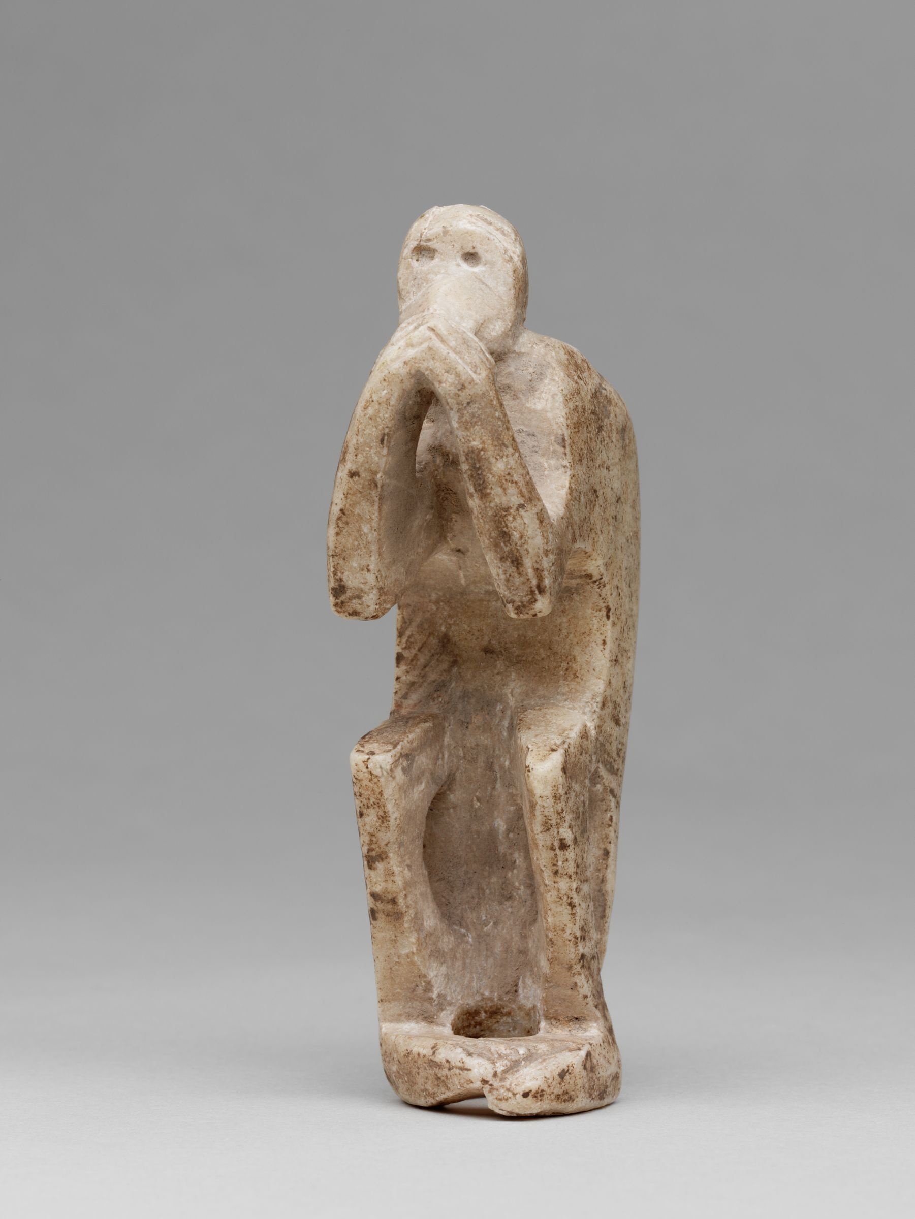 Proto-Elamite Statuette Of A Monkey