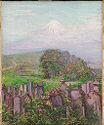 Mt. Fuji With Gravestones