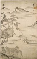 The Poet Tao Yuanming (365-427) Returning To His Farm At Lili