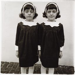 Identical Twins, Cathleen (L.) And Colleen, Members Of A Twin Club In New Jersey. 1966
