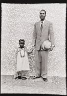 Untitled (portrait of man and daughter)