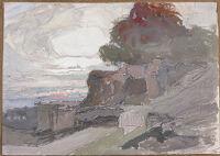 Landscape Study For Le Vent (Terrasse De Vezelay)