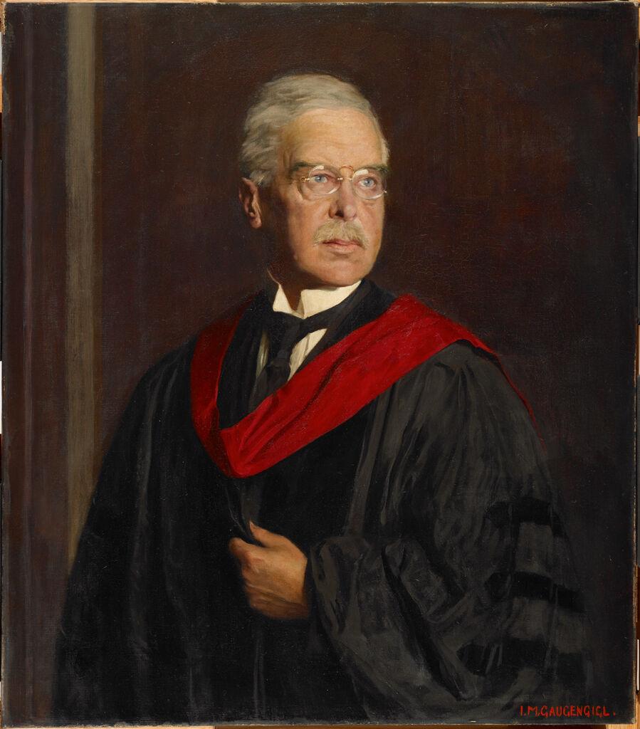 Portrait Of Professor Kuno Francke