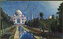 The Taj Mahal, Moonlit