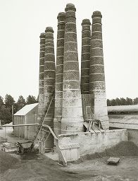 Lime Kilns, Brielle, Holland, From The Portfolio