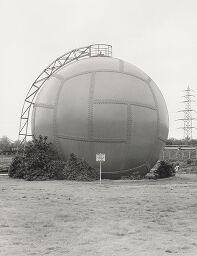 Gas Holder, Power Station, Essen-Karnap, Ruhr District, From The Portfolio