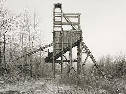 Pit Head, Joliett, Pennsylvania, Usa, From The Portfolio