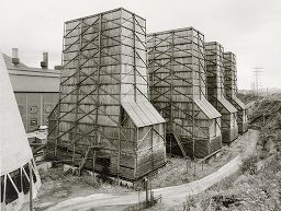 Cooling Towers, Bargoed Power Station, South Wales, From The Portfolio