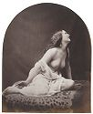Untitled (Album Page With Four Photographs, Including A Seated Draped Nude By Oscar Rejlander)