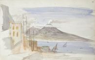 Landscape with Mount Vesuvius