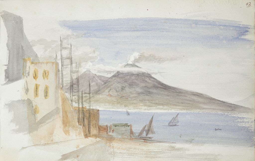 Landscape With Mount Vesuvius