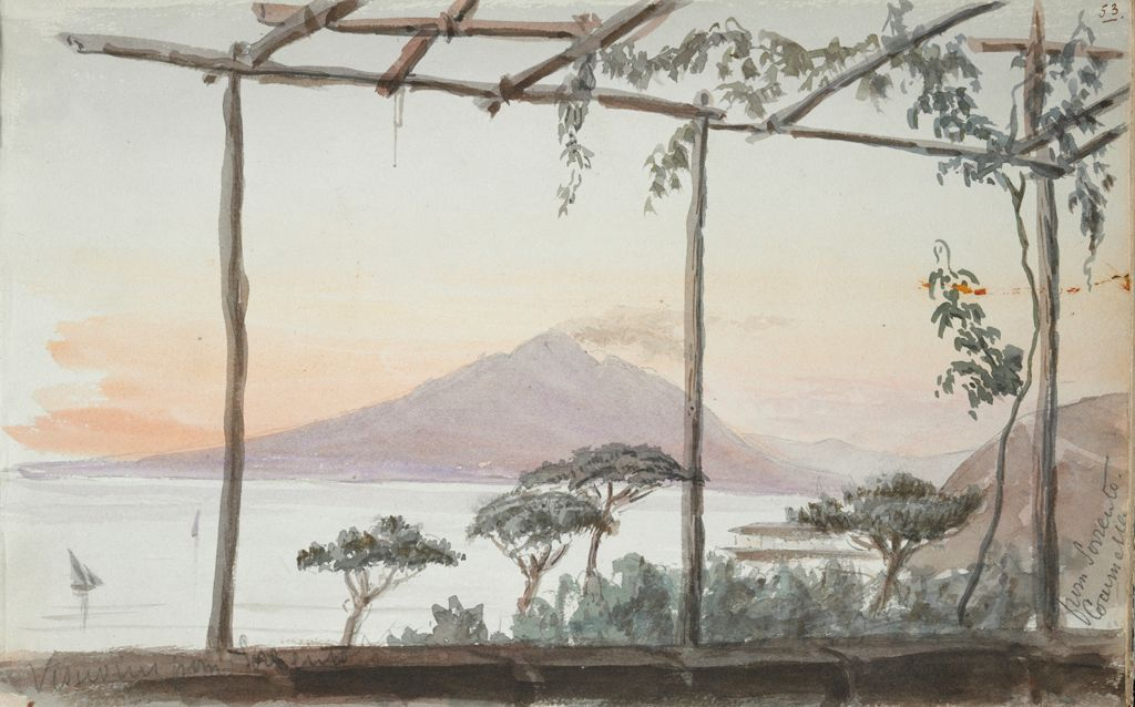 Mount Vesuvius From Sorrento