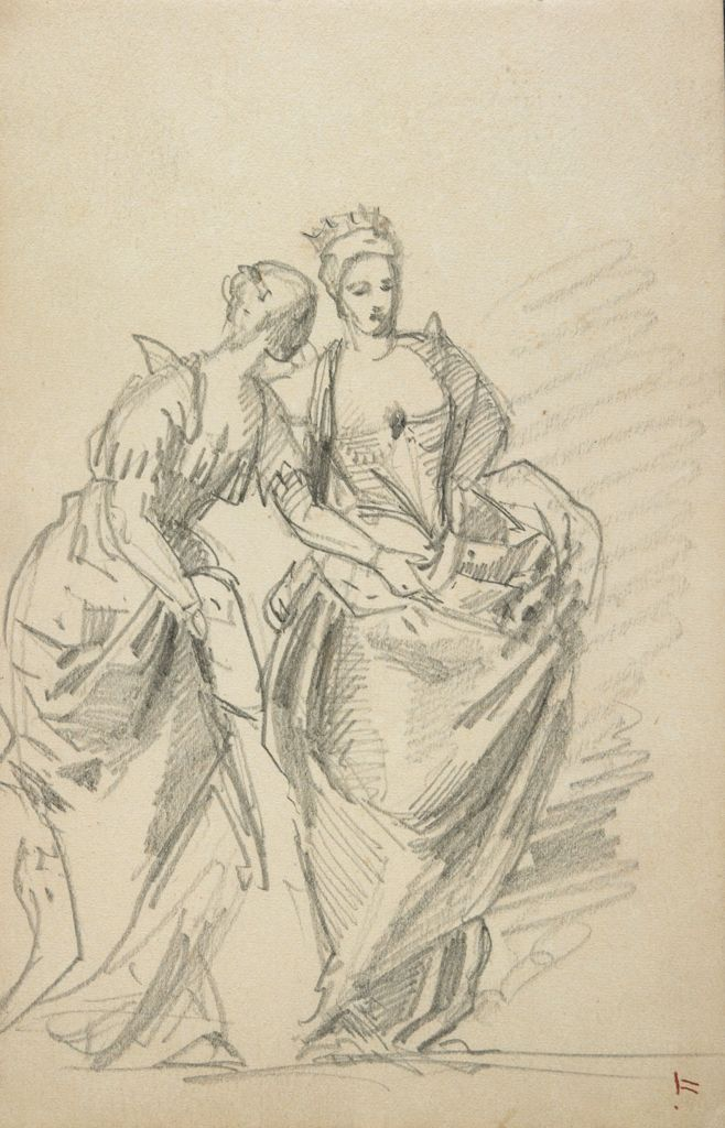 Two Women, After Veronese