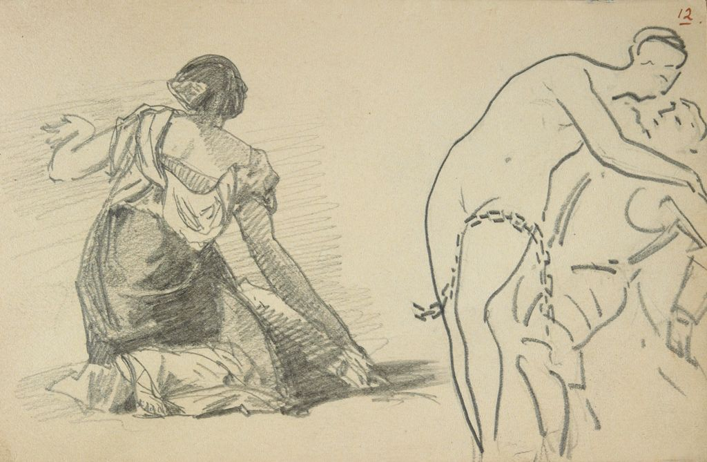 Line Art Figures : From the harvard art museums collections figures after