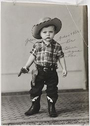 Untitled (Boy In Cowboy Outfit, Lockhart, Texas)