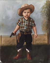 Untitled (Boy In Cowboy Outfit)