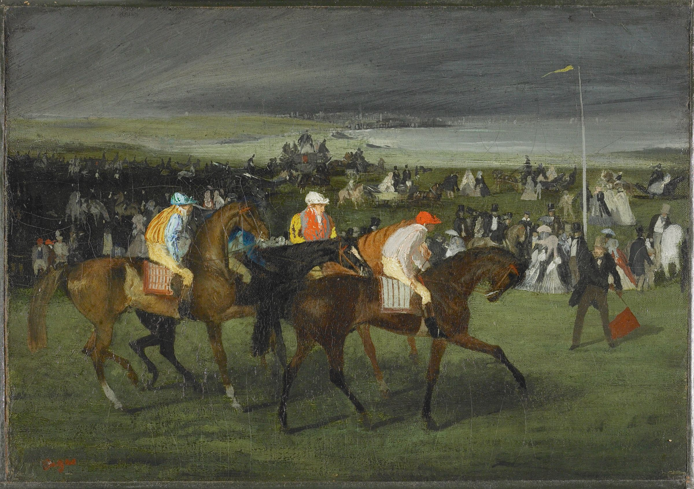 At The Races:  The Start