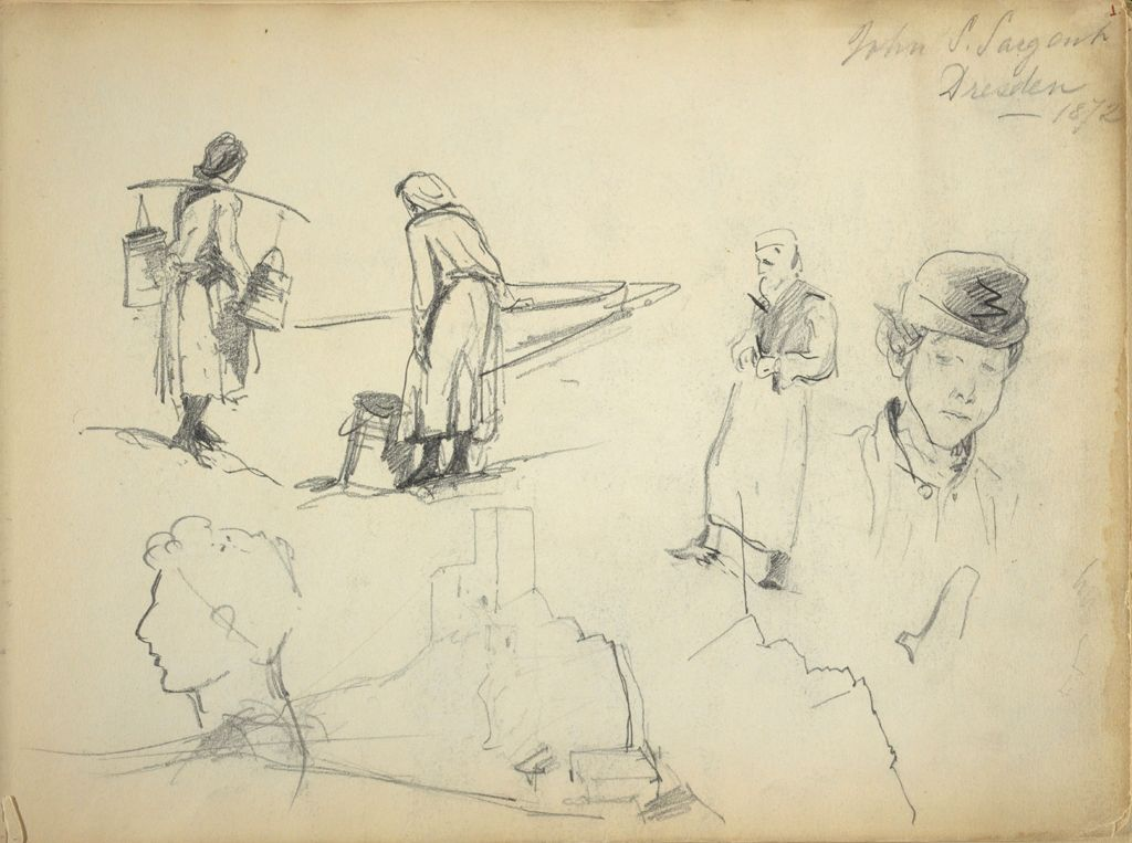 Figure And Landscape Sketches