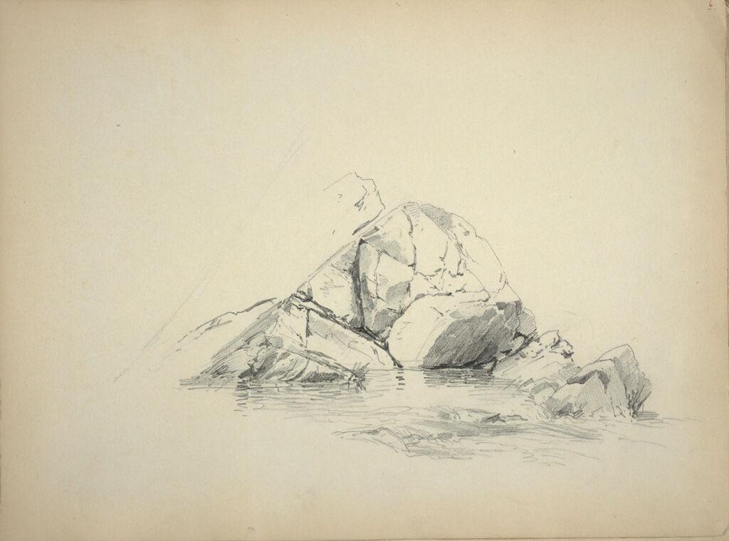 Sketch Of Rocks