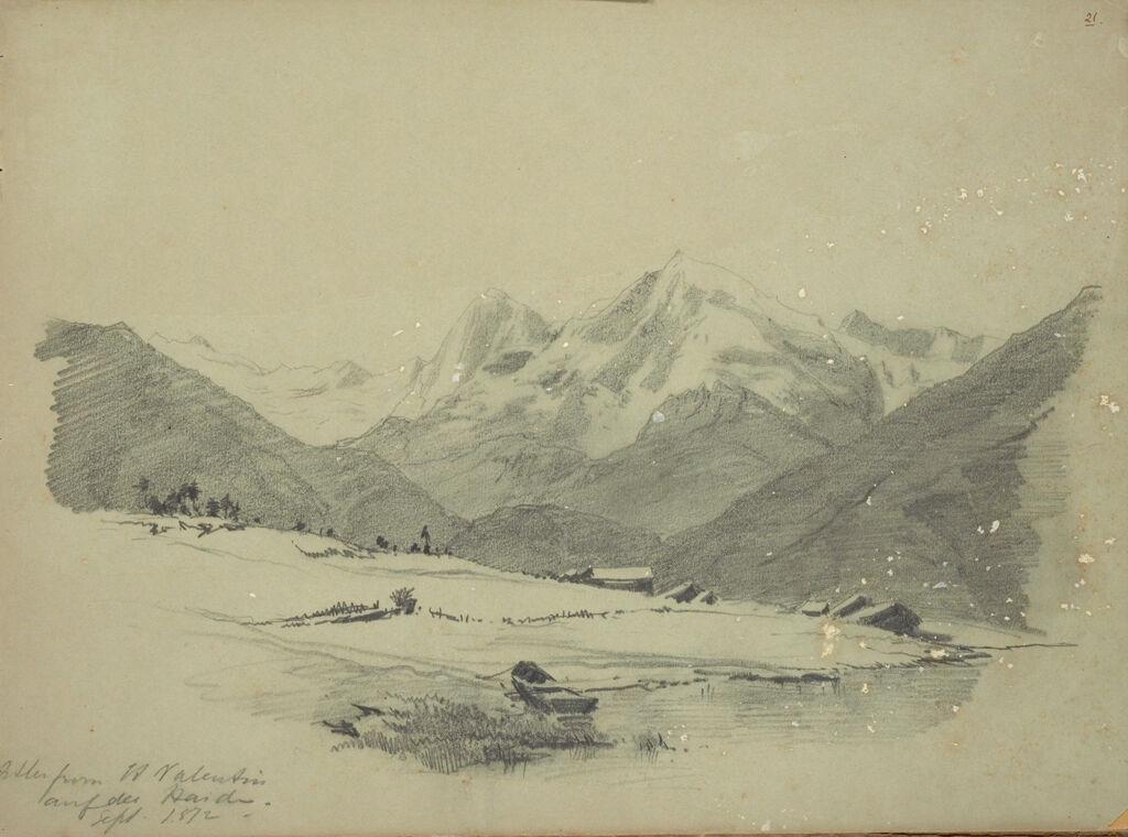 Mountain Landscape, St. Valentin Auf Der Haid, Germany