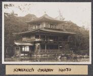 Work 8 of 63 Title: Kinkakuji garden, Kioto Creator: Stillman, E. G. Date: 1905?