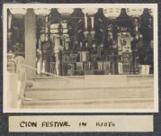 Work 21 of 63 Title: Gion Festival in Kioto Creator: Stillman, E. G. Date: 1905?