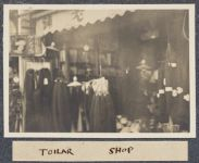 Work 22 of 63 Title: Toilar [i.e. Tailor] shop Creator: Stillman, E. G. Date: 1905?