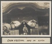 Work 39 of 63 Title: Gion Festival, May in Kioto Creator: Stillman, E. G. Date: 1905?