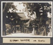 Work 46 of 63 Title: Kitano temple in Kioto Creator: Stillman, E. G. Date: 1905?