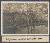 Work 51 of 63 Title: Beyodoin [i.e. Byodoin] Temple garden, U... Creator: Stillman, E. G. Date: 1905?