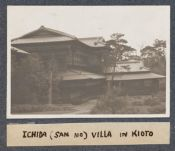 Work 60 of 63 Title: Ichida (san no) villa in Kioto Creator: Stillman, E. G. Date: 1905?