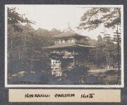 Work 61 of 63 Title: Kinkakuji garden, Kioto Creator: Stillman, E. G. Date: 1905?