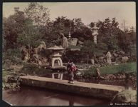 Work 2 of 52 Title: Prince garden at Tokio Date: ca. 1890